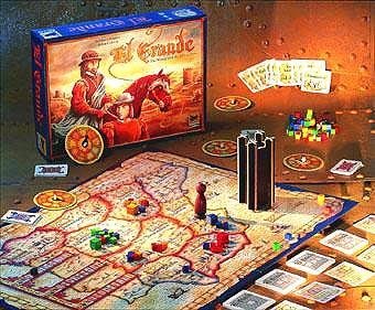 Strategiespiel El Grande Foto von Hans im Glück