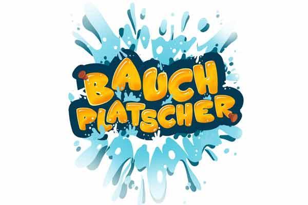 Bauchplatscher - Logo - Foto von HUCH!