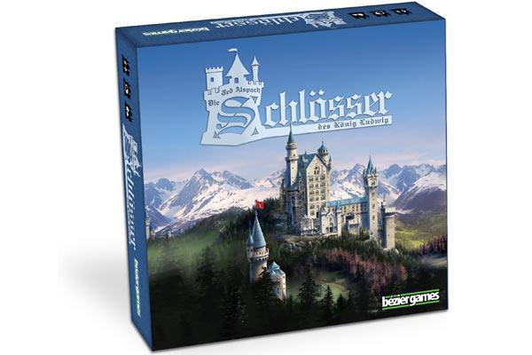 Die Schlösser des König Ludwig - Foto von bezier games/Huch! & Friends