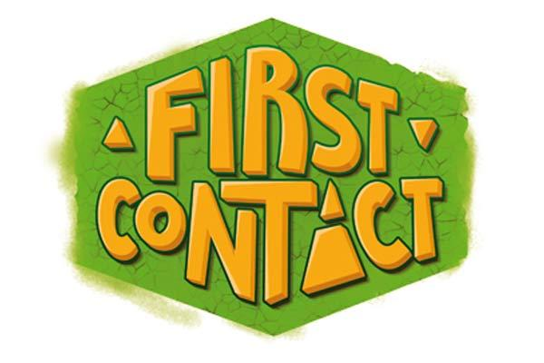 First Contact - Logo - Foto von Huch