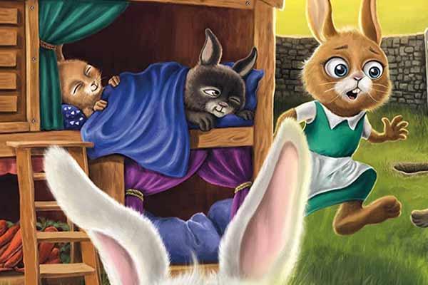 Good Night, Bunnies - Ausschnitt - Foto von Huch!