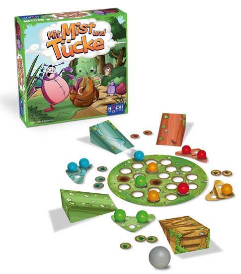Kinderspiel Mit Mist und Tücke - Foto von Huch and friends