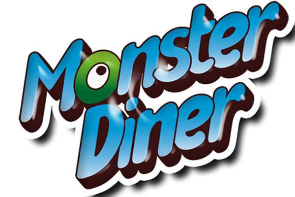 Monster Diner - Schriftzug - Foto von Huch!