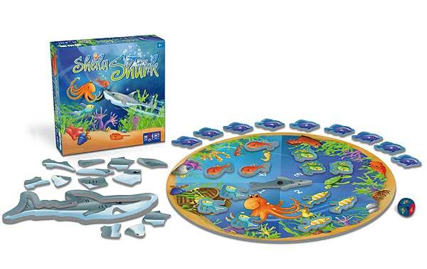 Kinderspiel Sheila Shark - Foto von Huch! & Friends