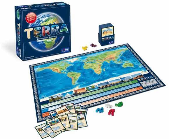 Schätz- und Wissensspiel Terra - Foto von Hutter Trade