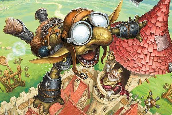 Flyin' Goblin - Ausschnitt - Foto von Iello