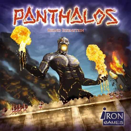 Schachtelgrafik des Brettspiels Panthalos - Foto Irongames