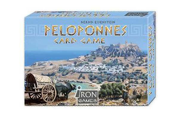 Peloponnes Card Game - Foto von Irongames