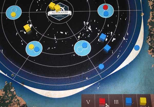 Brettspiel Almirante - Foto von Reich der Spiele