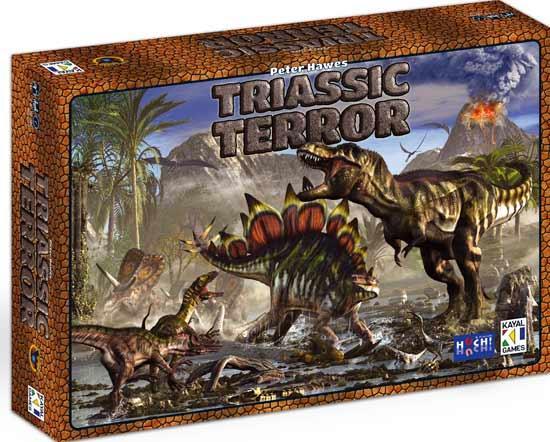 Brettspiel Triassic Terror - Foto von Kayal Games - Hutter