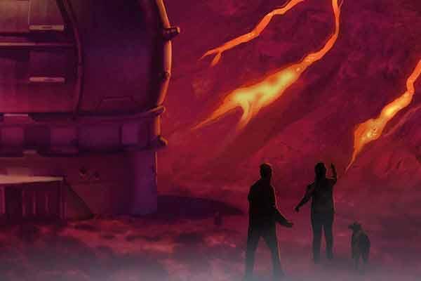 Adventure Games: Die Vulkaninsel - Ausschnitt - Foto von Kosmos