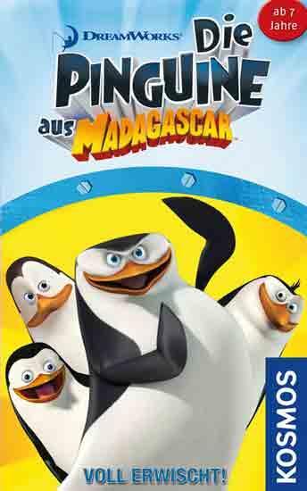 Die Pinguine aus Madagascar Voll erwischt - Foto Kosmos
