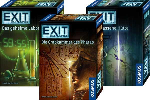 Die Reihe EXIT Das Spiel - Fotos von Kosmos