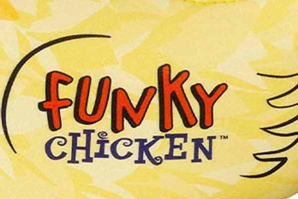 Funky Chicken - Ausschnitt - Logo - Foto von Kosmos