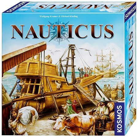 Nauticus - Brettspiel von Wolfgang Kramer - Foto von Kosmos