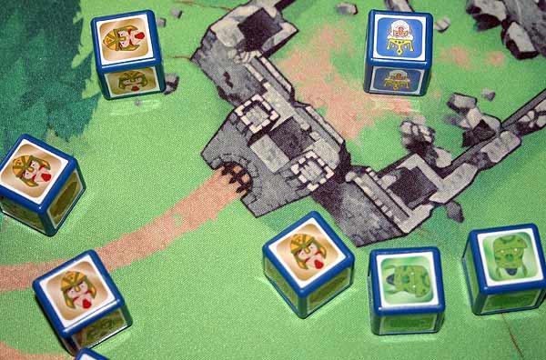 Familienspiel Rumms - Foto von Reich der Spiele