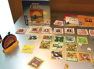 Die Siedler von Catan - Das Kartenspiel Jubiläumsausgabe - Foto Reich der Spiele