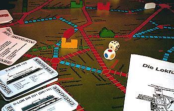 Kreuz und Quer - Das Eisenbahnspiel