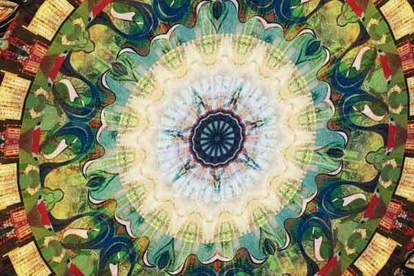 Mandala - Kartenspiel, Ausschnitt - Foto von Lookout Spiele