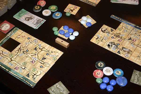 Brettspiel Darwinci - Foto von Reich der Spiele