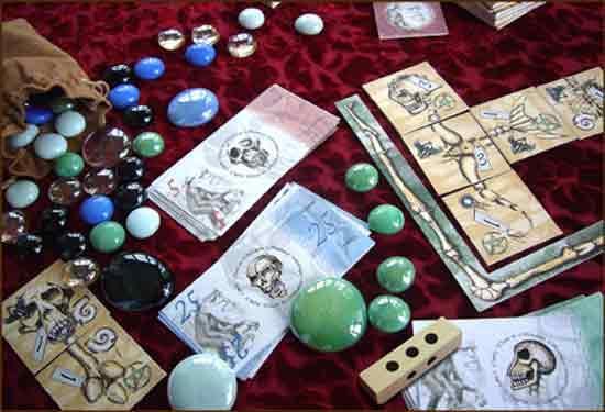 Spiel Darwinci - Spielmaterial - Foto von Ludo Art