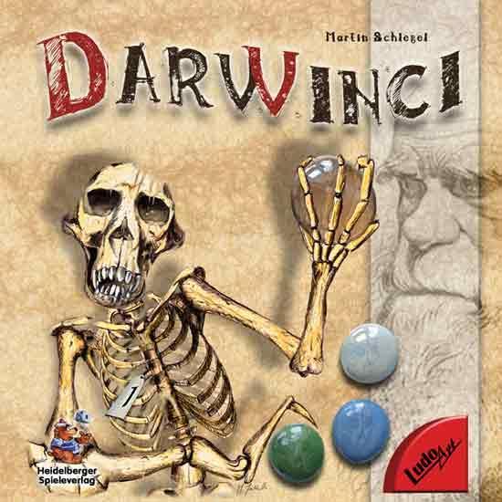 Spiel Darwinci - Schachtelgrafik - Foto von Ludo Art