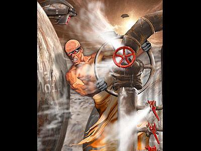 Planet Steam: Vorabgrafiken: Covergrafik freigestellt