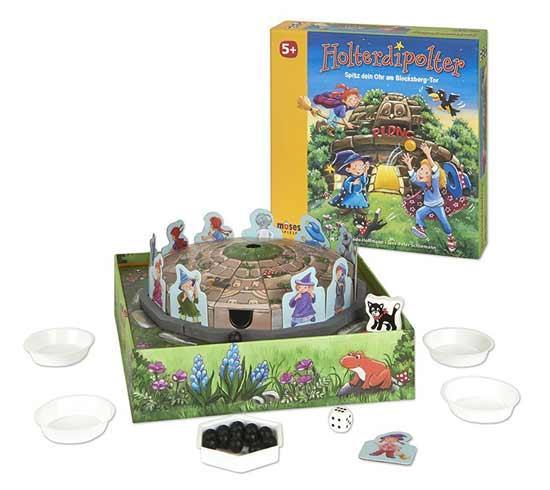 Kinderspiel Holterdipolter - Foto von Moses Verlag