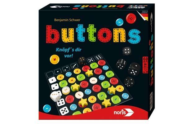 Buttons - Familienspiel - Foto von Noris Spiele