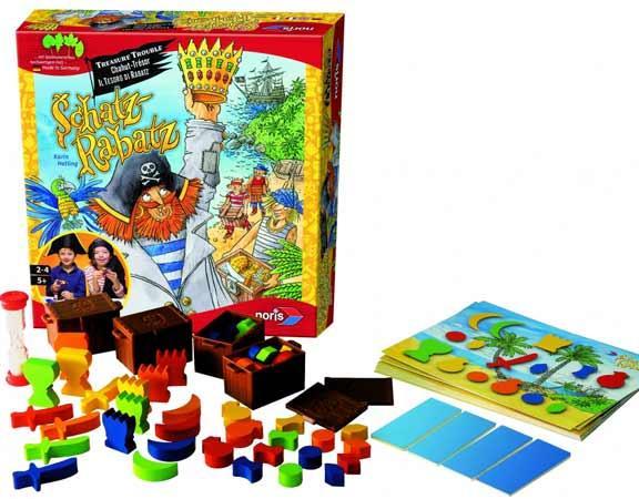 Kinderspiel Schatz Rabatz - Foto von Noris Spiele