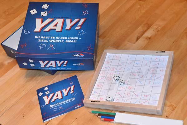 Gesellschaftsspiel Yay! - Foto von Axel Bungart