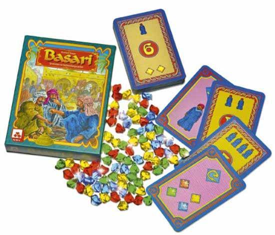 Gesellschaftsspiel Basari - Foto von NSV