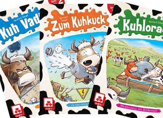 Die Kuh-Spiel-Serie von Reinhard Staupe - Foto Staupe