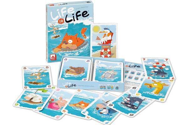 Life Is Life - Kartenspiel - Foto von NSV