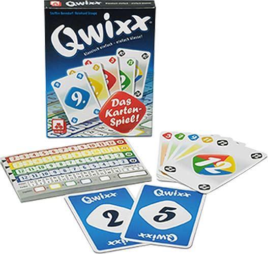 Qwixx - das Kartenspiel - Foto von NSV