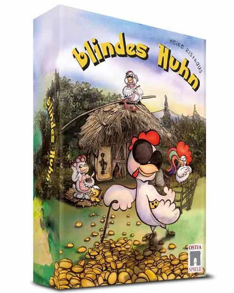 Crowdfunding für das Spiel Blindes Huhn - Foto Ostia Spiele