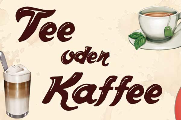 Tee oder Kaffee - Ausschnitt - Foto von Ostia Spiele