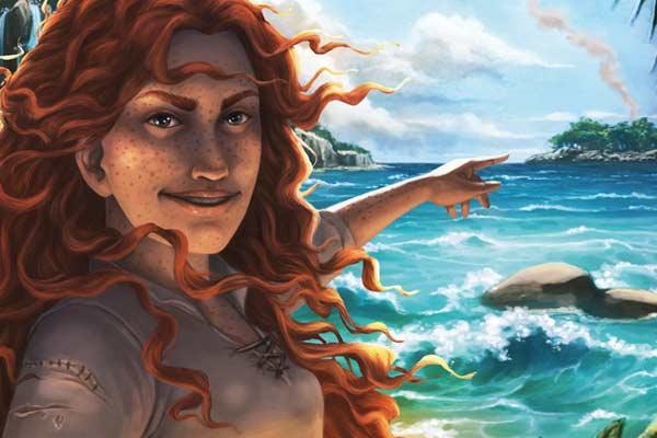 Schachtelgrafik Adventure Island - Ausschnitt - Foto von Pegasus Spiele