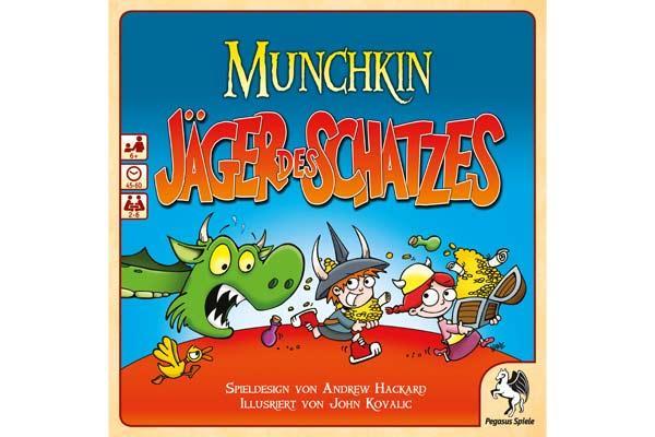 Munchkin - Jäger des Schatzes - Foto von Pegasus Spiele