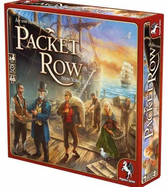 Brettspiel Packet Row - Foto von Pegasus Spiele