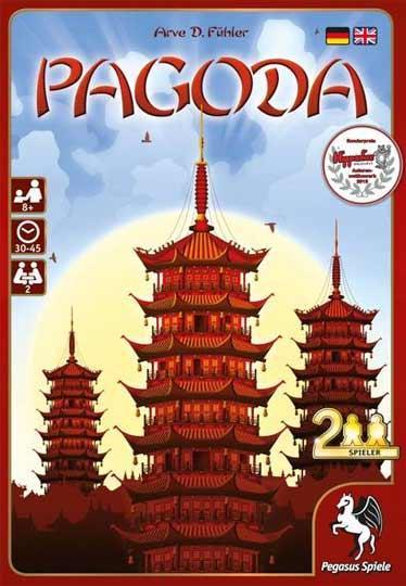 Brettspiel Pagoda - Foto von Pegasus Spiele