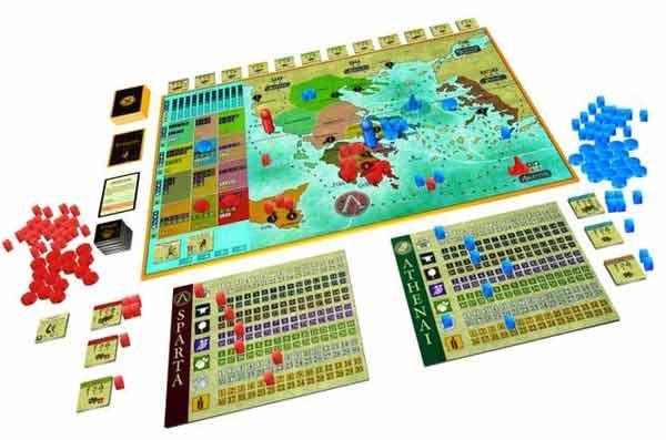 Polis - Spielmaterial - Foto von Pegasus Spiele