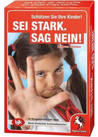 Kartenspiel Sei stark sag nein - Foto Pegasus