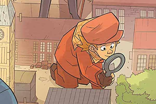 Sherlock Holmes - Die Nachwuchs-Investigatoren - Ausschnitt - Foto von Pegasus Spiele