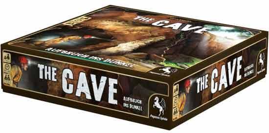 Brettspiel The Cave - Foto von Pegasus Spiele