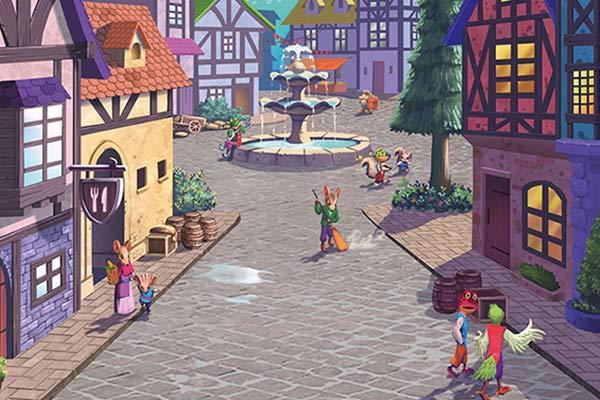 Tiny Towns - Ausschnitt - Foto von Pegasus Spiele