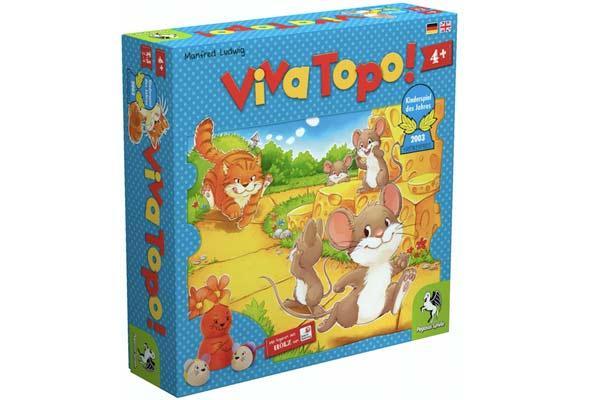Kinderspiel des Jahres Viva Topo - Foto von Pegasus Spiele