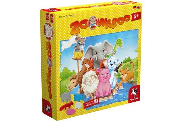 Kinderspiel Zoowaboo - Foto von Pegasus Spiele