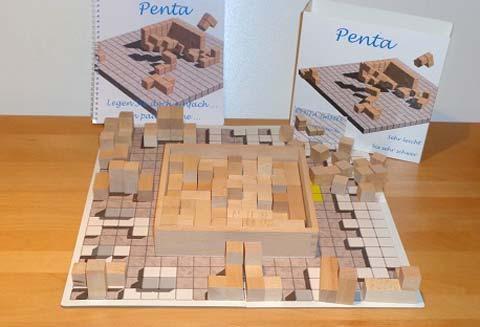 Penta - Holzspiel - Foto von Penta Games