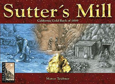 Spiel Sutter's Mill von Phalanx Games